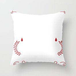 Nurse - It Cannot Be Inherited Throw Pillow