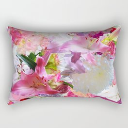 Lush Lilies Rectangular Pillow