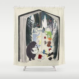 the big book of jazz Shower Curtain