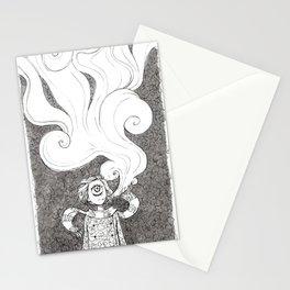 Winter Smoke Stationery Cards