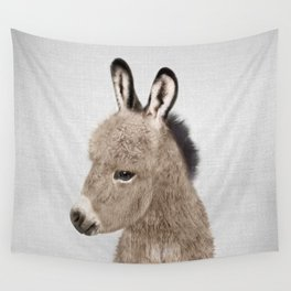 Donkey - Colorful Wall Tapestry