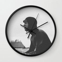 Surfing La Push, Washington USA Wall Clock