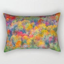 Autumn forest Rectangular Pillow