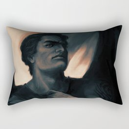Azriel Shadowsinger acomaf sarah j maas Rectangular Pillow