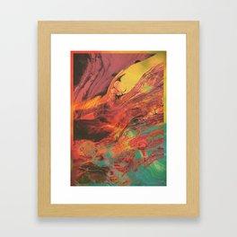 Feed your head III Framed Art Print