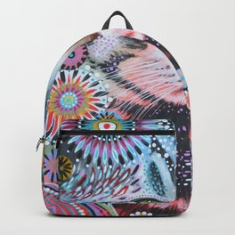 Abstract Cat Art - Penny Backpack