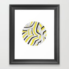 Circle Series #4 Framed Art Print