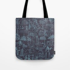 My destinations Tote Bag