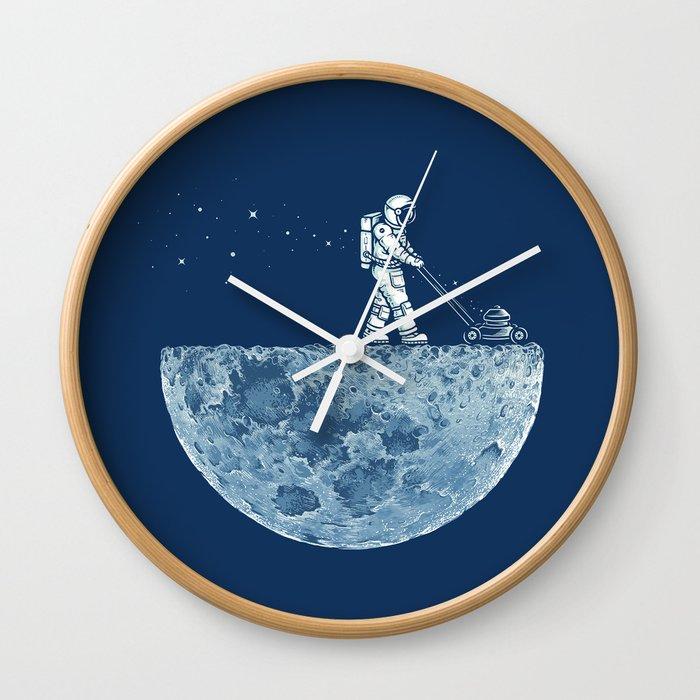 Mown Wall Clock