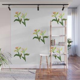 Fan's Pattern design- 2018 New Year Flower Wall Mural