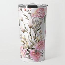 Roses and Wild Flowers Travel Mug