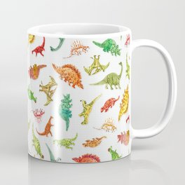 Dinosaur Party Pattern Coffee Mug