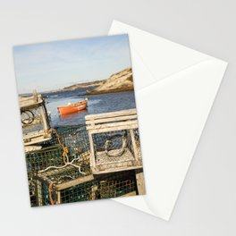 Lobster Traps in Peggy's Cove Stationery Cards
