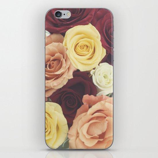 Vintage Roses II iPhone & iPod Skin