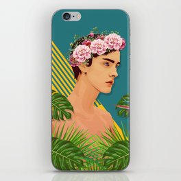 BOY OVER FLOWERS iPhone Skin