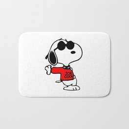 Joe Cool Snoopy Bath Mat