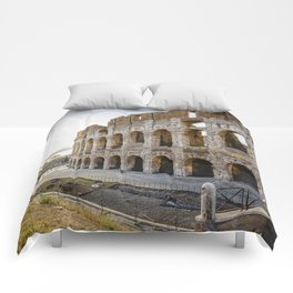 The Colosseum of Rome Comforters