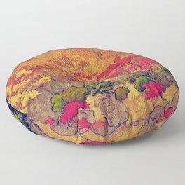 Autumn Baths in Kaanaii Floor Pillow