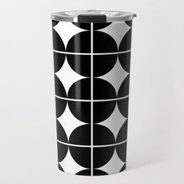 Circle Grid Travel Mug
