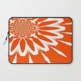 The Modern Flower Orange Laptop Sleeve