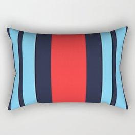 Martini Racing Colours Rectangular Pillow