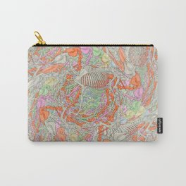 Psychedelic Horse Skeleton Carry-All Pouch