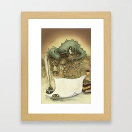 Good night Framed Art Print