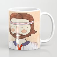 tenenbaums Mugs featuring Secretly In Love by Nan Lawson