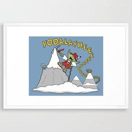 Master Yodel Framed Art Print