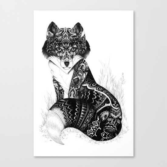 Wildlife Fox Canvas Print