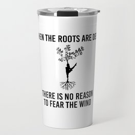 Family Roots Connection Dynasty Ancestry Yoga Gift Travel Mug