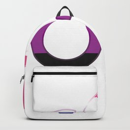 Genderfluid Nonbinary Gay Or Lesbian Gift Backpack