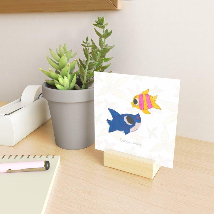 Ocean (Dibujitos de Denise) Mini Art Print