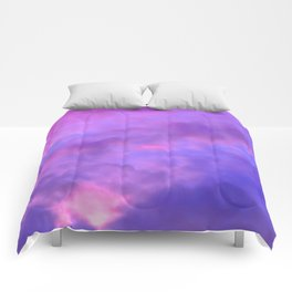 Purple Clouds Comforters