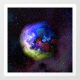 One of A Hundred Nebulas 008 Art Print