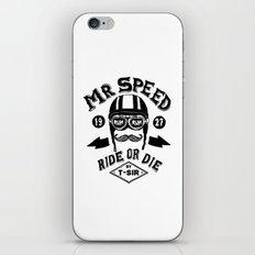 Mr. Speed iPhone & iPod Skin