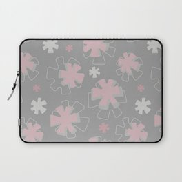 Asterisk Flowers Laptop Sleeve