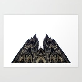 cologne cathedral. Art Print