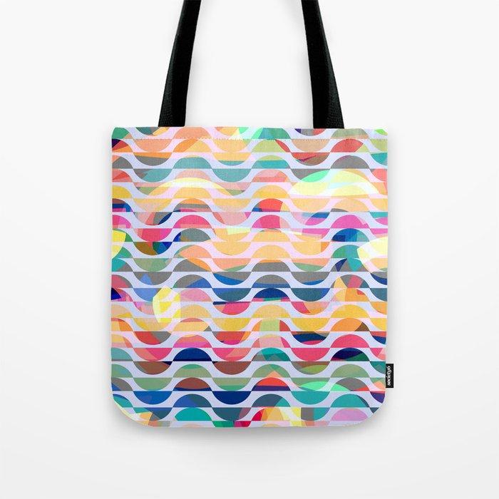 Happy waves Tote Bag