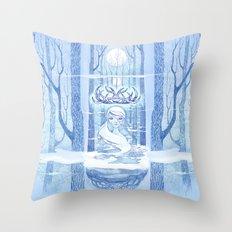 ~forest~spirit~ Throw Pillow
