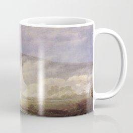 Caspar David Friedrich - Fog in the Elbe Valley.jpg Coffee Mug