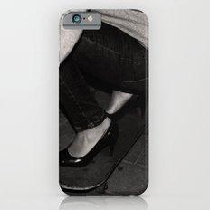 skateboarding girl iPhone 6s Slim Case