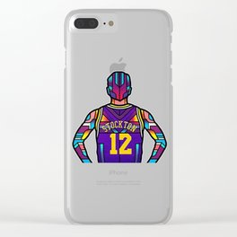 John Stockton Clear iPhone Case