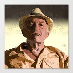 Breaking Bad Illustrated - Hector Salamanca Canvas Print