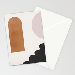 Abstract Shapes 16 Stationery Cards