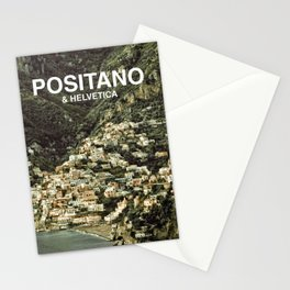 Positano & Helvetica Stationery Cards