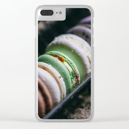 bite french macarons Clear iPhone Case