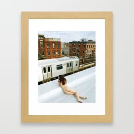 After the gold rush Framed Art Print