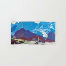 Nicholas Roerich - From Beyond - Digital Remastered Edition Hand & Bath Towel
