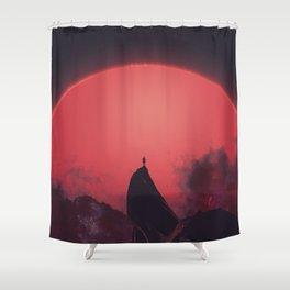 Abaddon Shower Curtain